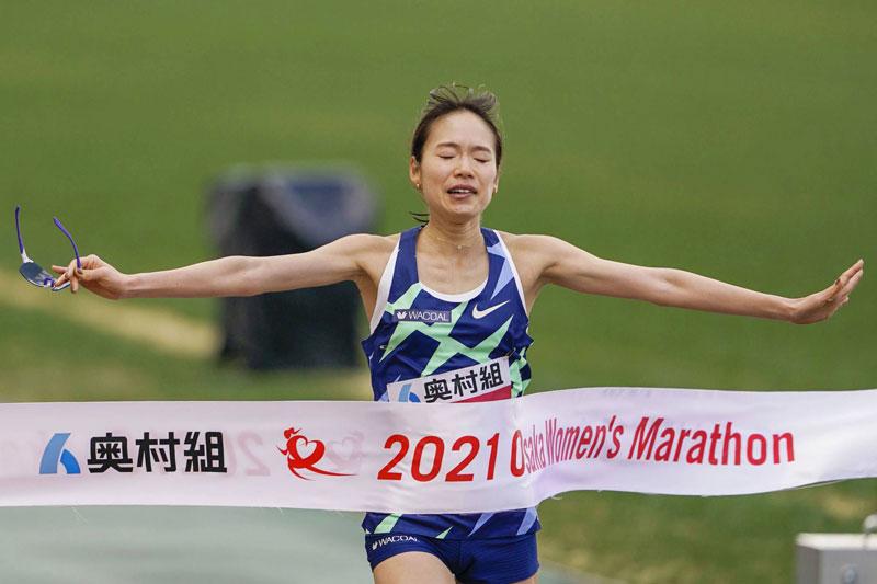 Ichiyama Osaka Women's Marathon record