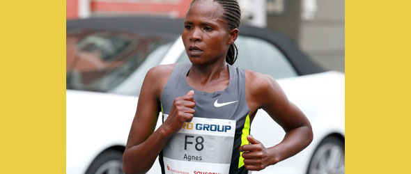 Jeruto Agnes sets Course Record in Dusseldorf 2012