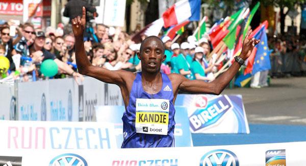 Felix Kandie - Prague Marathon