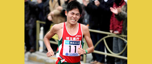 Yuki Kawauchi for Duesseldorf Marathon