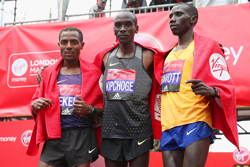 Kipchoge, Bekele to face off in London 2020