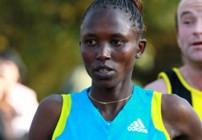Agnes Kiprop for Frankfurt Marathon 2011