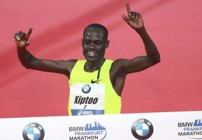 Kiptoo and Kebede win Frankfurt Marathon