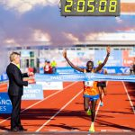 Cherono wins Amsterdam Marathon in Record Time