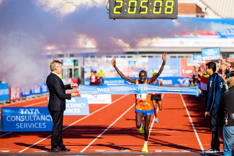 Lawrence Cherono - Amsterdam Marathon 2017