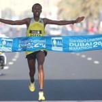 Tsegaye Mekonnen wins Dubai 2014