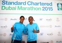 Bekele, Mergia chase Dubai Marathon records