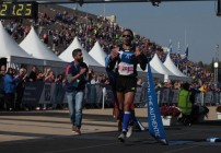 Christoforos Merousis wins Athens Marathon