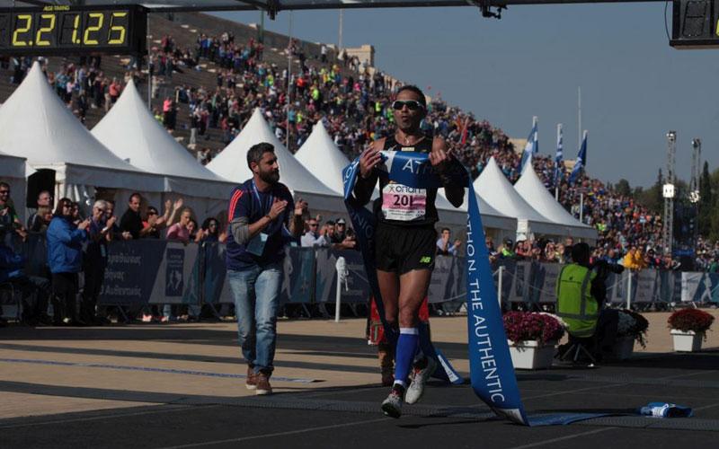 Christoforos Merousis - Athens Marathon