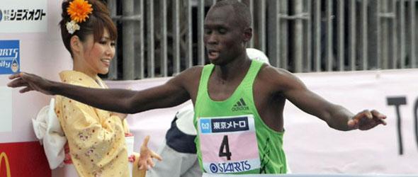 Michael Kipyego Tokyo Marathon 2012