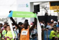 Kenneth Mungara wins Singapore Marathon 2014