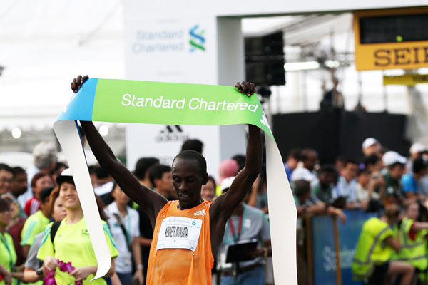 Kenneth Mungara - Singapore Marathon