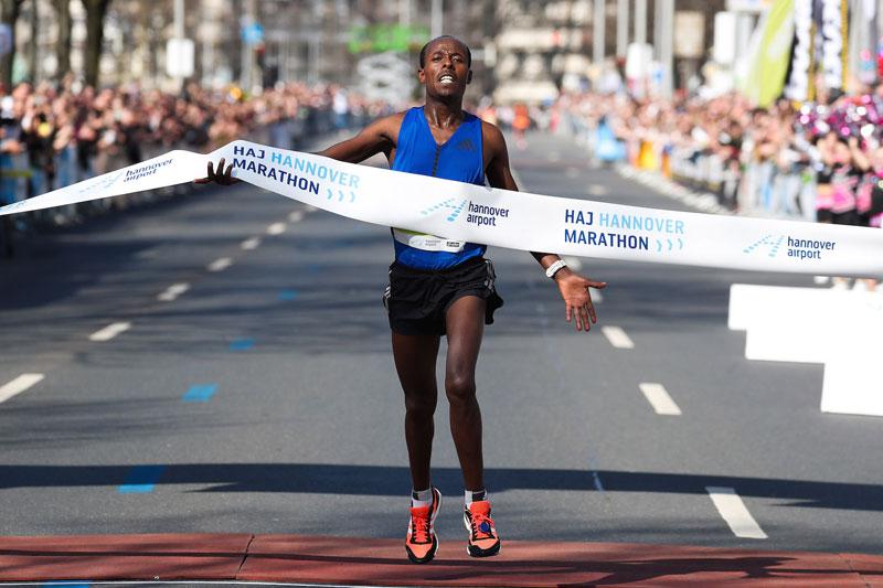 Negussa Seboka - Hannover Marathon 2018