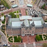Marathon goes underneath Rijksmuseum