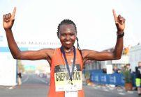 Ruth Chepngetich - Dubai Marathon 2019