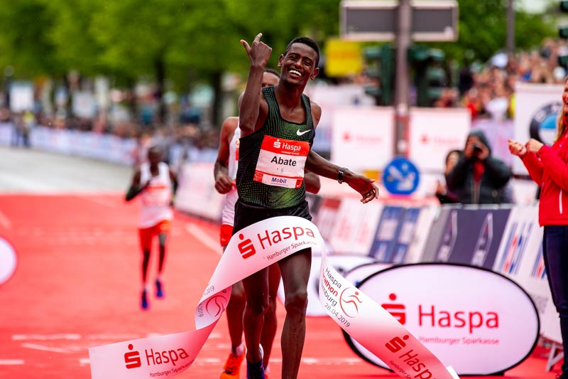 Double Ethiopian triumph in Hamburg 2019