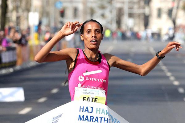 Fate Tola - Hannover Marathon
