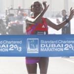Ethiopians dominate Dubai 2013