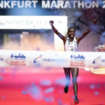 Valary Aiyabei wins Frankfurt Marathon in Course Record