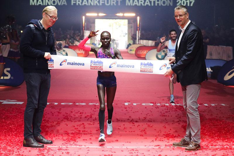 Tola, Cheruiyot take Frankfurt Marathon 2017 titles