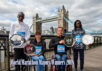 Kipchoge, Keitany take World Marathon Majors title