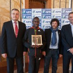 Makau gets the AIMS Award