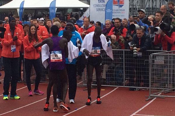 amsterdam marathon top 3