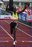 Emmanuel Mutai Amsterdam 2007