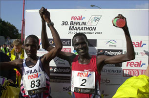 Berlin Marathon 2003