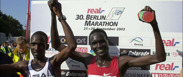 Paul Tergat Berlin 2003 - WR 2:04:55