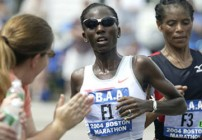 Catherine Ndereba Boston Winner 2004