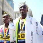 Kenyan Sweep at 2012 Boston Marathon