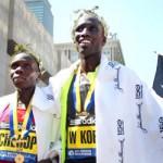 Kenyan Sweep at 2012 Boston Marathon