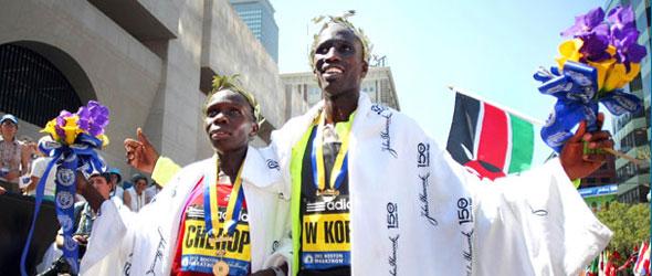 Boston Marathon Winners 2012