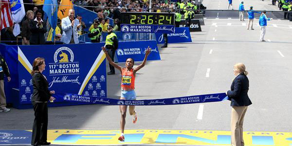 Rita Jeptoo - Boston 2013