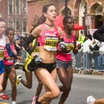 Goucher and Davila for Boston Marathon 2011