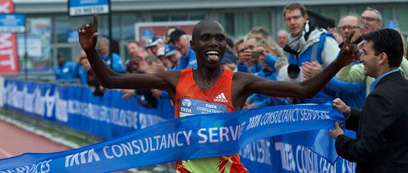 Wilson Chebet wins Amsterdam Marathon 2012