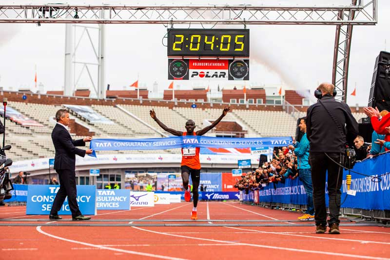Cherono sets Amsterdam course record