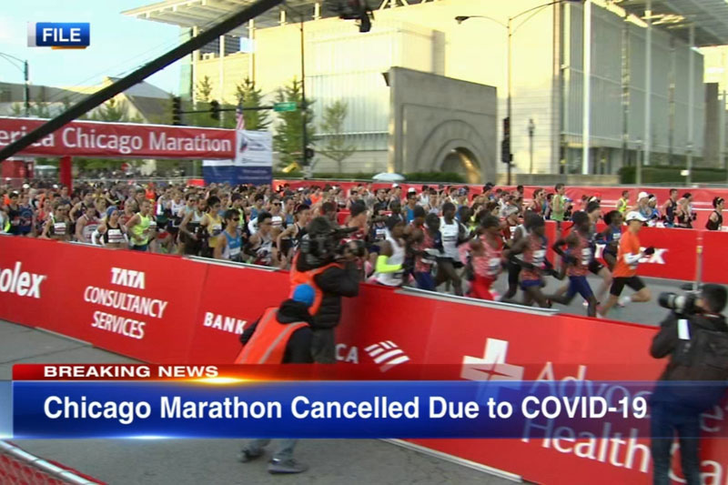 Chicago Marathon 2020 cancelled