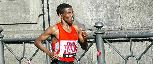 Haile Gebrselassie for Berlin Marathon 2011