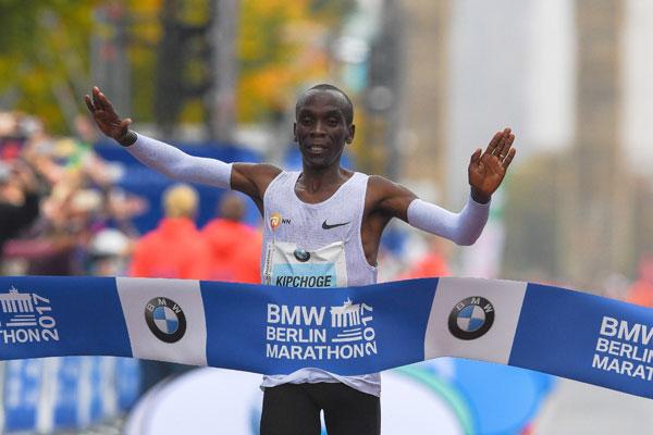 eliud kipchoge - berlin marathon 2017