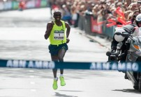 Eliud Kipchoge winner in Rotterdam