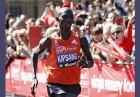 Wilson Kipsang wins London Marathon 2014