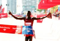 Kenyans Kirui and Kiplagat win Chicago Marathon 2016