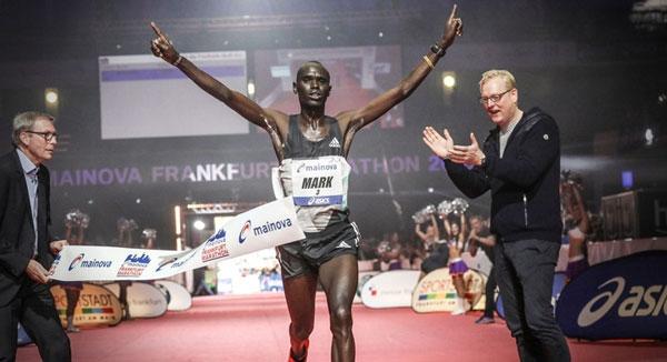 mike korir - frankfurt marathon