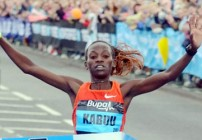 Kabuu and Kiplagat for Chicago 2012