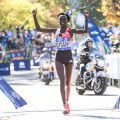 Keitany wins third New York City Marathon title
