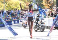 mary keitany - new york city marathon