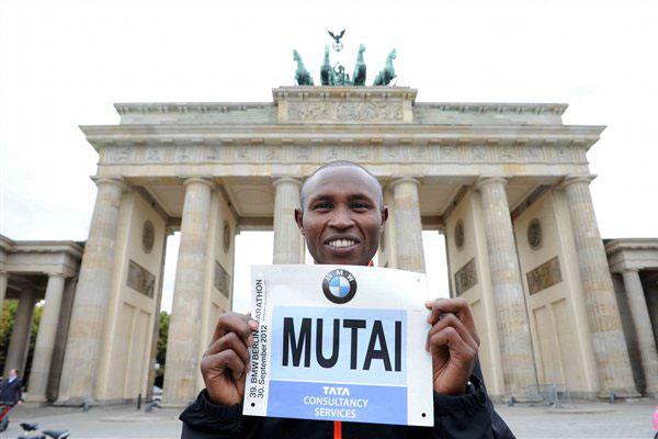 Geoffrey Mutai pre-Berlin Marathon 2012