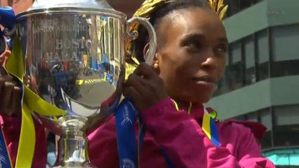 Rita Jeptoo - Boston Marathon 2014